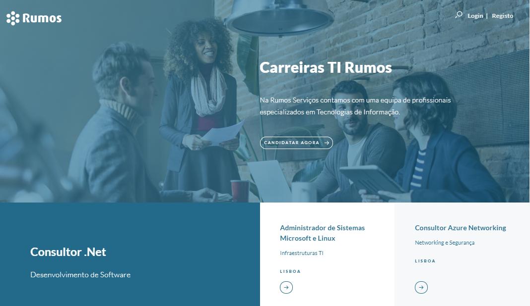 Rumos Serviços tem novo Portal de Emprego