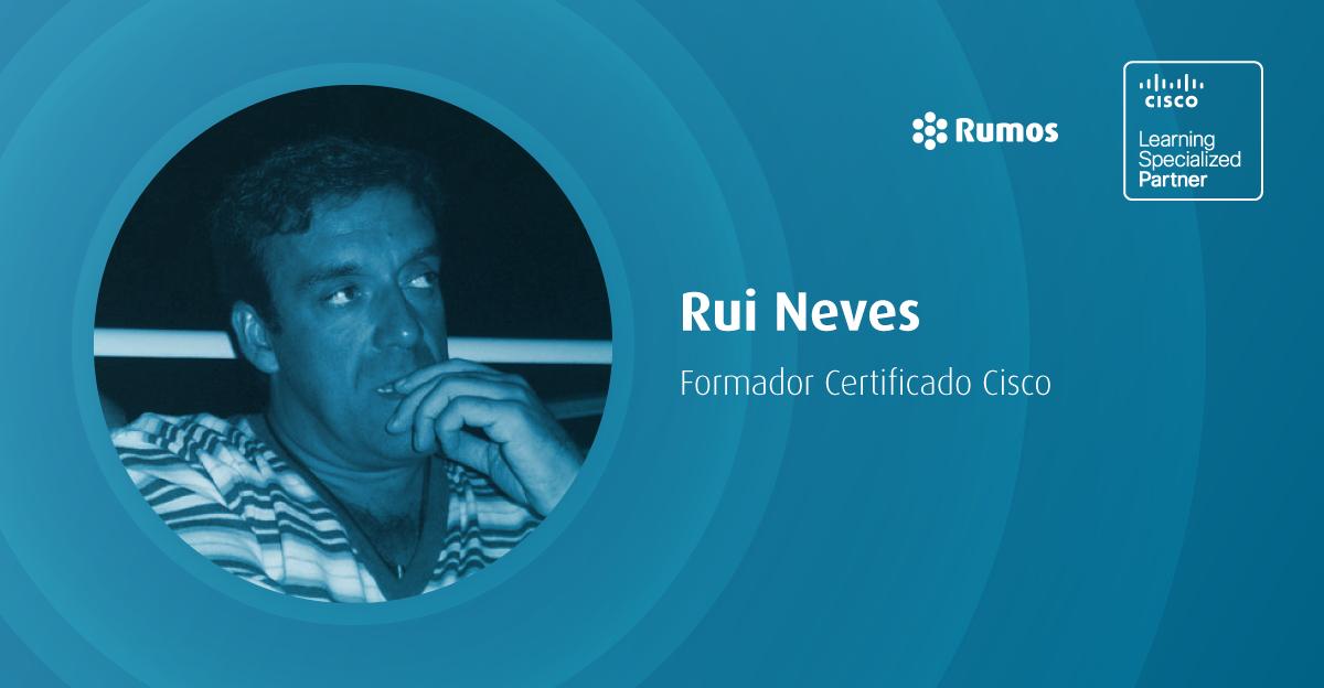 Formador Rumos distinguido pela Cisco com um Instructor Excellence Award