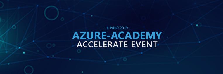Evento Azure-Academy Accelerate com apoio Rumos