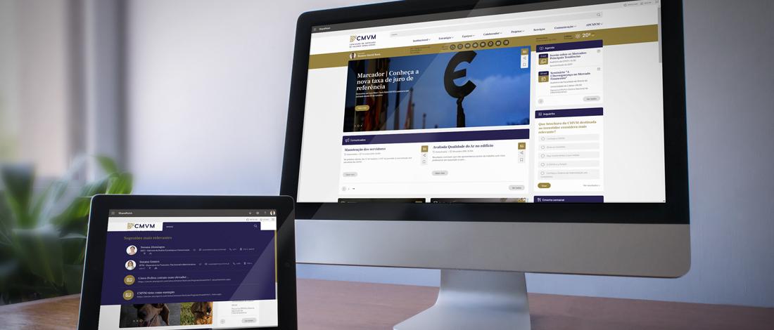 Rumos Serviços desenvolve nova intranet corporativa da CMVM