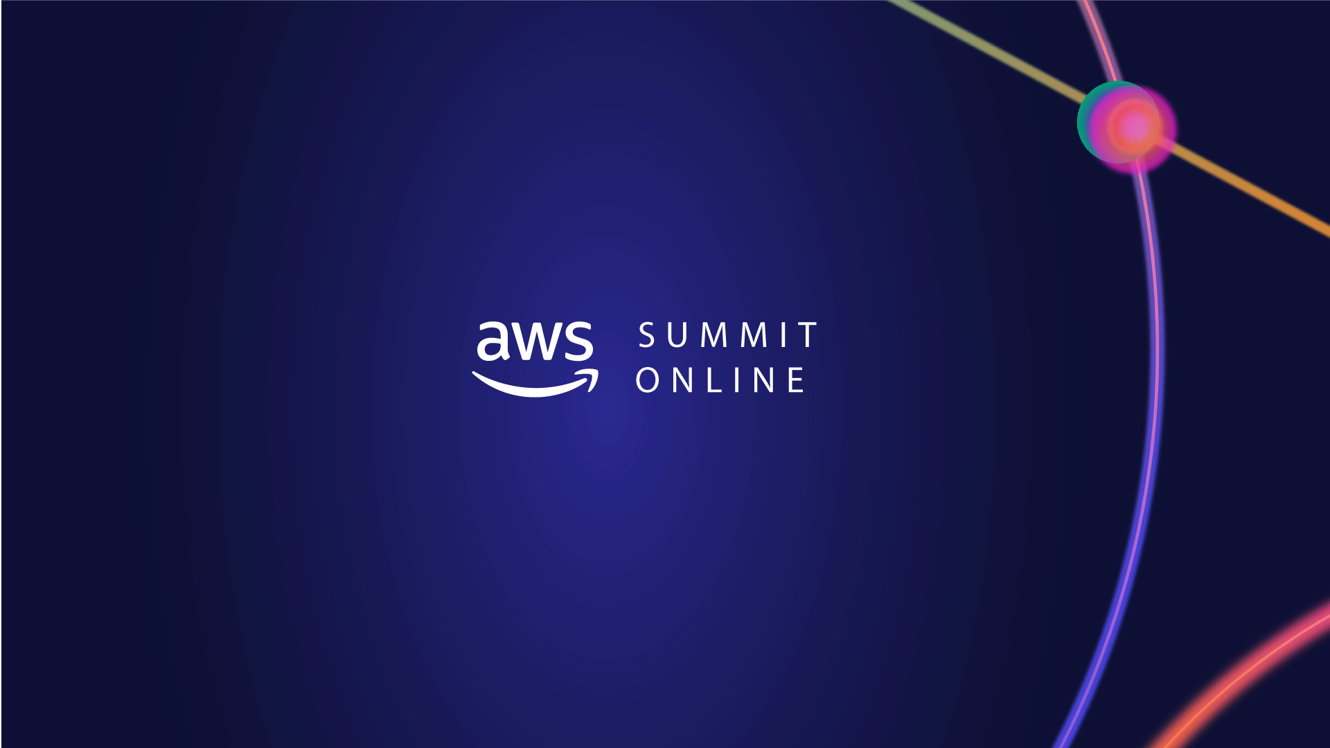 Aprender mais sobre Cloud no AWS Summit Online EMEA
