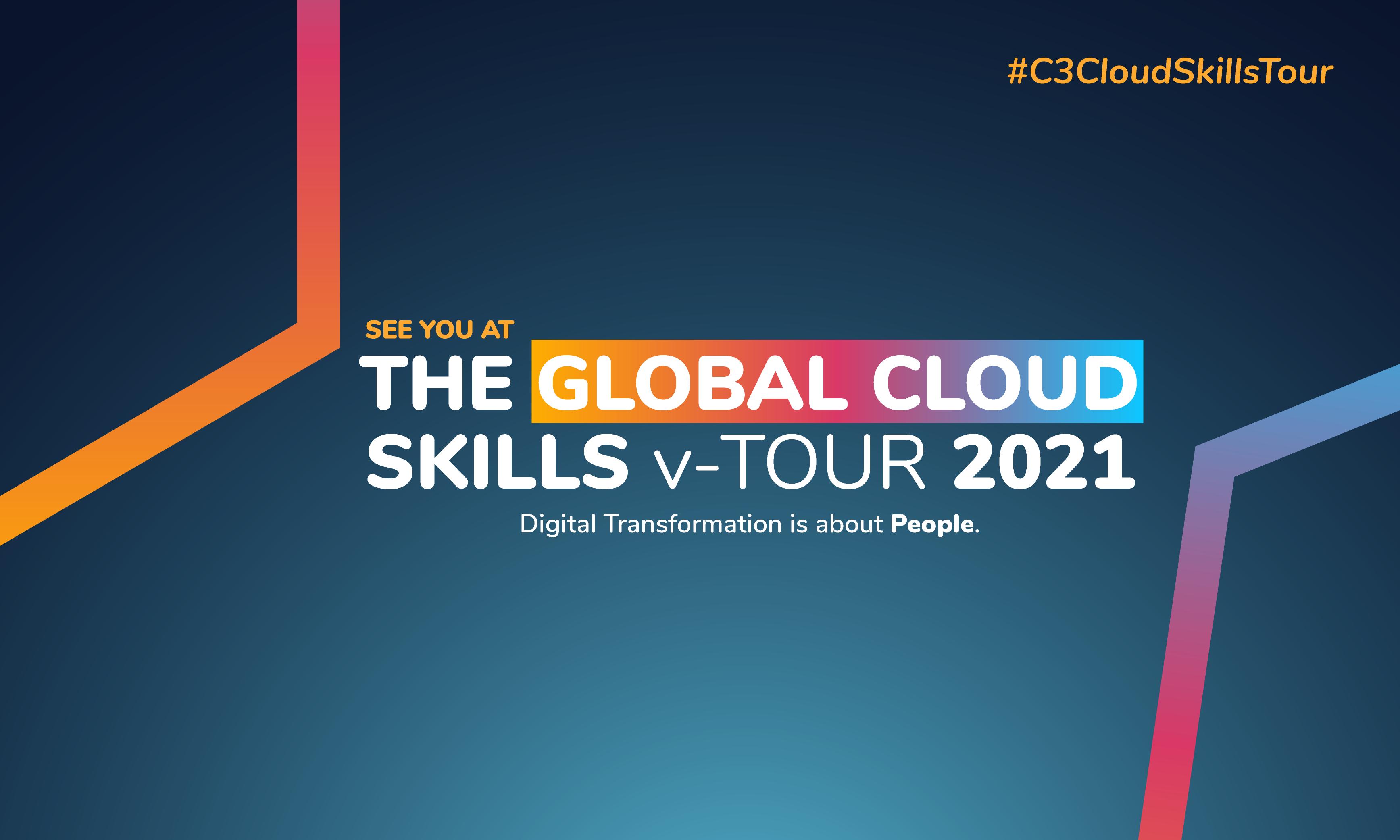 Rumos no C3 Global Cloud Skills v-Tour